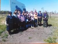 В преддверии 75-летия Победы в Великой Отечественной Войне «Серебряные волонтеры» поздравили ветеранов Чесменского муниципального района.
